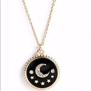 🌙⭐️ Star and moon necklace coin pendant gold